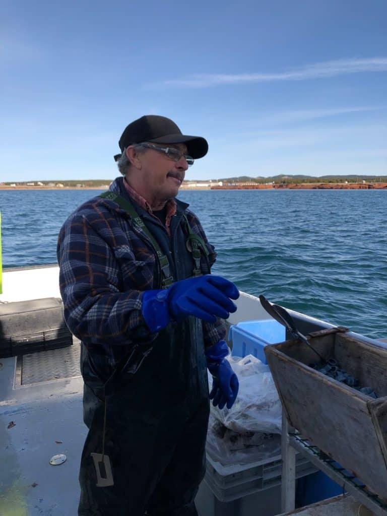 Jeannot Aucoin - La pêche aux homards aux Îles de la Madeleine : de l'océan à notre assiette