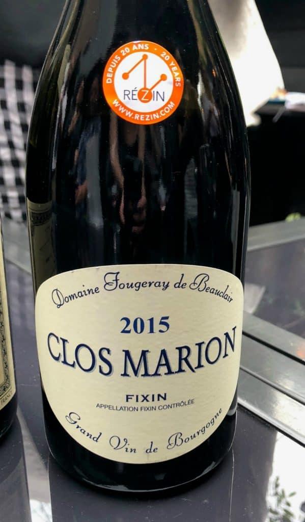 Clos Marion - Fixin - 2015 - Pinot noir