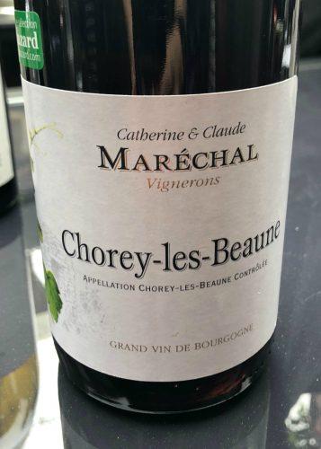 Chorey-les-Beaune, Catherine et Claude Maréchal Vignerons, pinot noir