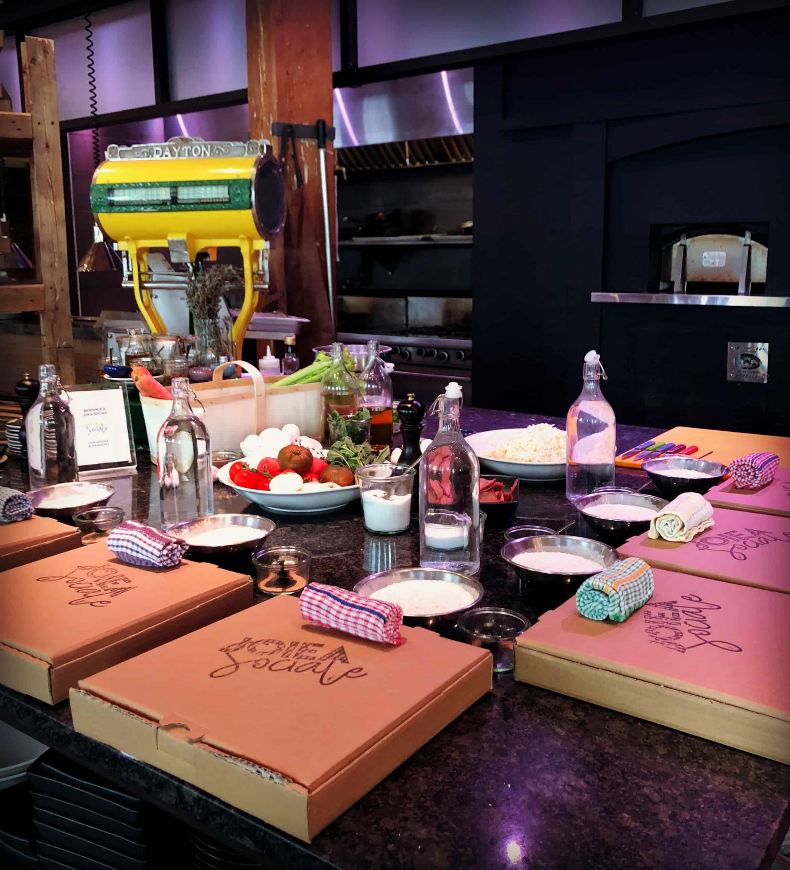 Cours de cuisine : s'initier à l'art des pâtes et des pizzas au Joiea Sociale
