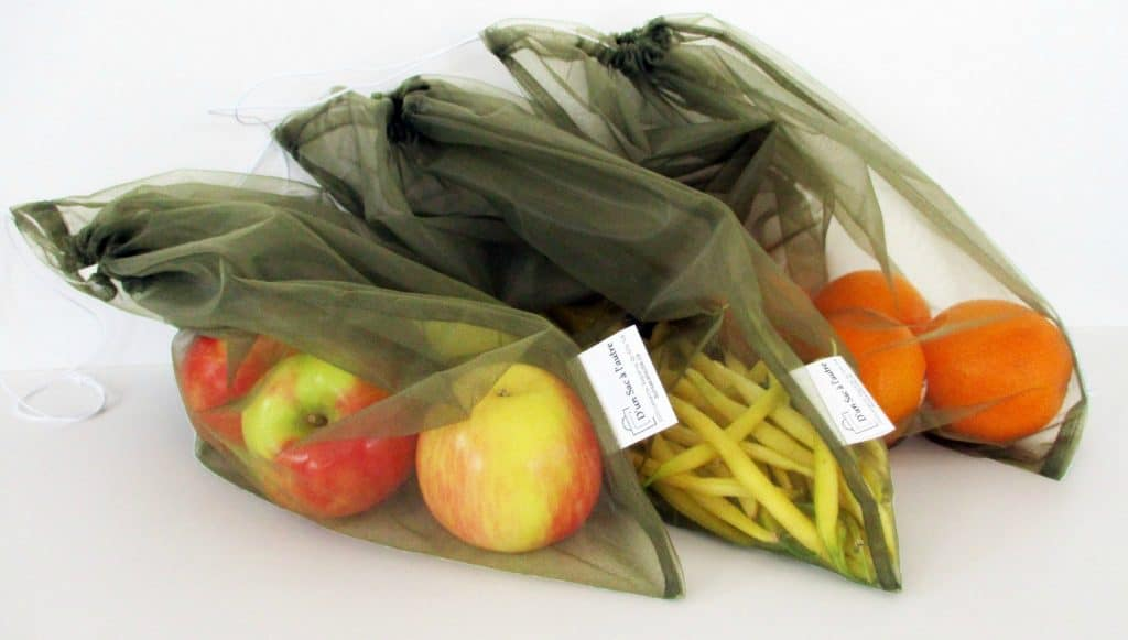 Sac filet pour légumes