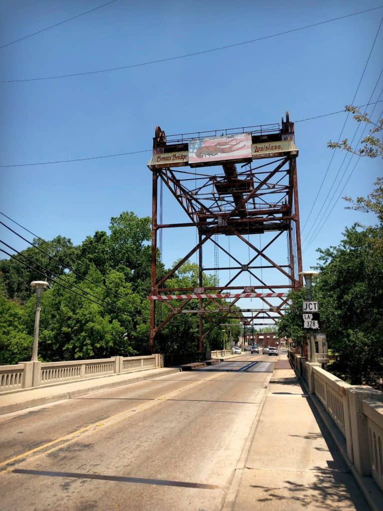 """Le pont de Breaux Bridge, la """"capitale"""" de l'écrevisse"""