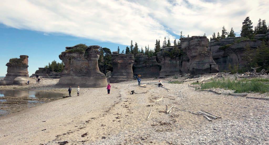 Monolithes de Niaspiskau - Archipel de Mingan - Côte-Nord