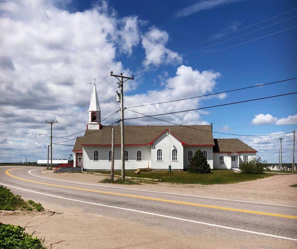 Église à  Natashquan