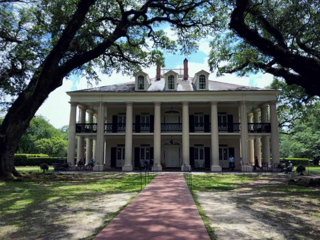 La grande maison - Oak Alley Plantation