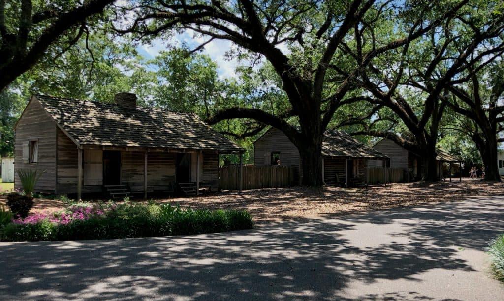 quartier des esclaves - Oak Alley Plantation, Louisiane