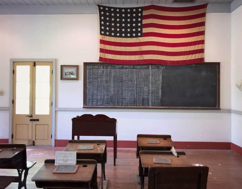 Vermilionville - Quand il était interdit de parler francais