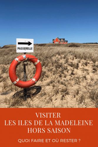 Visiter les Iles de la Madeleine hors saison : quoi faire et où rester