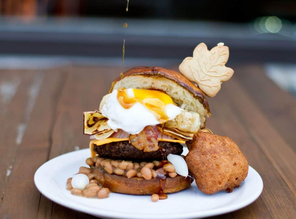 Burger du restaurant Le Gras Dur - Burger Week Montreal 2018