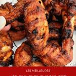 Les meilleures ailes de poulet croustillantes lime et poivre