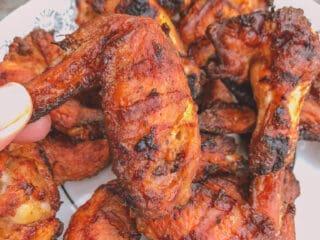 Ailes de poulet croustillantes, lime et poivre