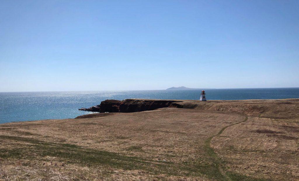 Phare - Pointe Basse Cap Alright - Iles de la Madeleine