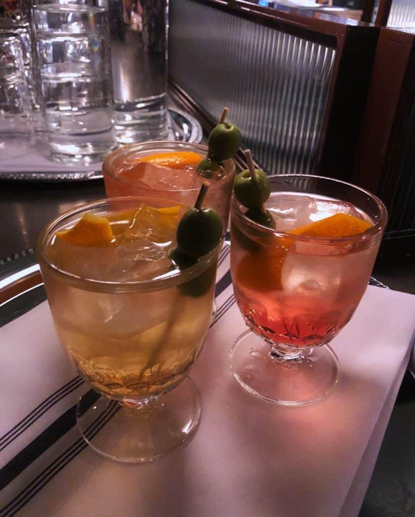 Cocktails - Un Po Di Piu - Café italien Vieux-Montréal