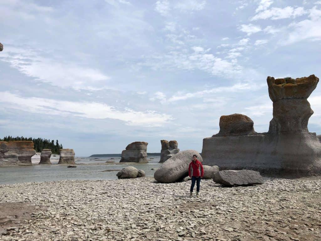 Monolithes de l'île Quarry