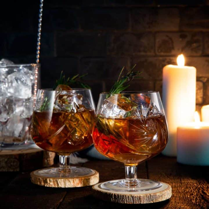 Recette de cocktail Old-fashioned au rhum