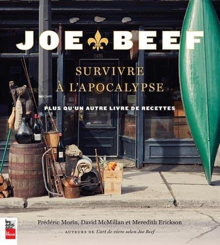 Couverture du livre Joe Beef - Survivre à l'apocalypse