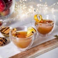 Cidre de pomme festif à la vodka et aux épices