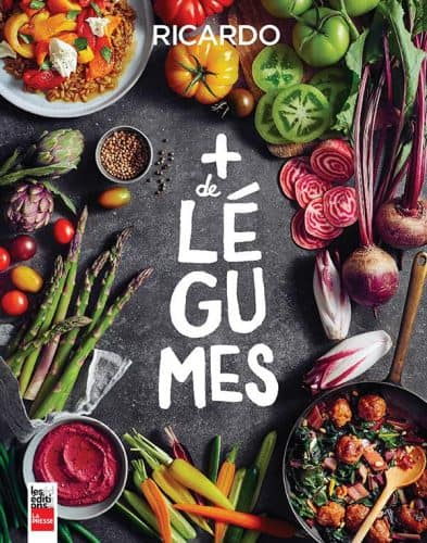 Couverture du livre Plus de Légumes de Ricardo