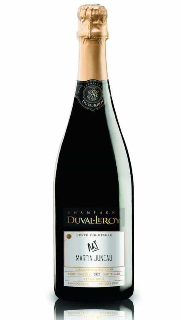Cuvée sur mesure Martin Juneau- Champagne Maison Duval-Leroy