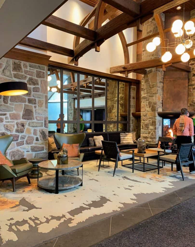 Lobby du Fairmont Tremblant