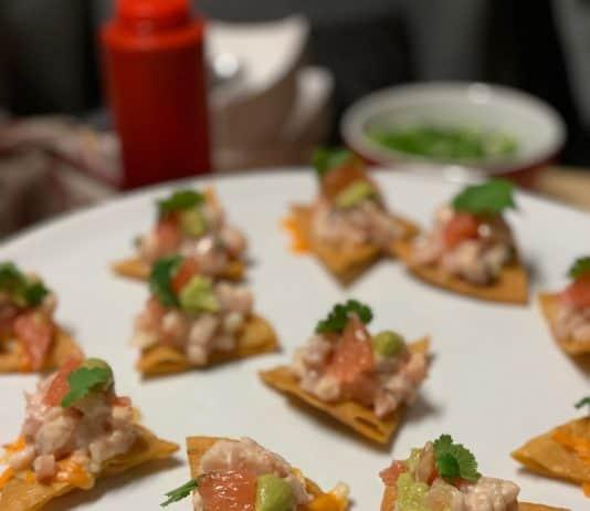 Le méchant nacho - recette de nachos au thon avec pico de gallo