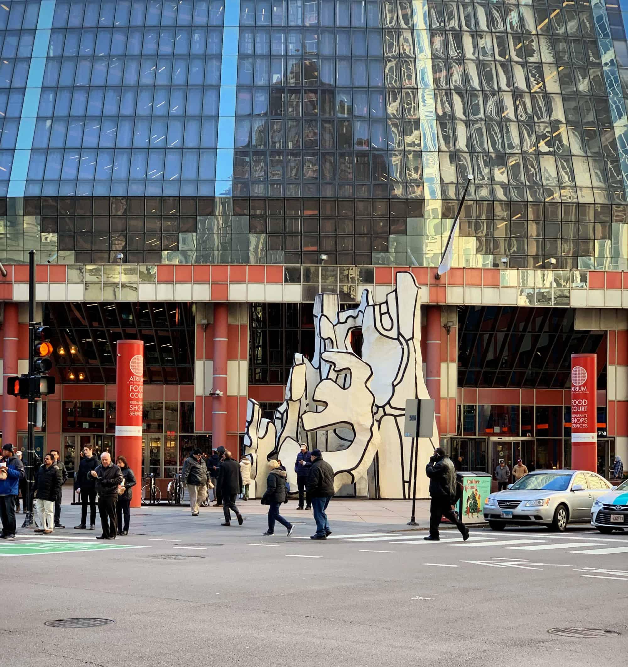 Le Monument à la Bête de duBuffet - Chicago