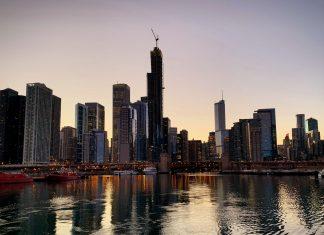 Vue de la ville de Chicago