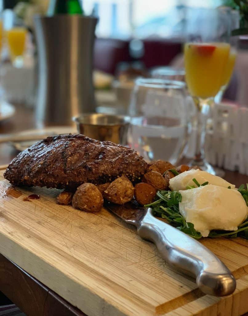 steak and eggs - Brunch au Méchant Boeuf- Happening Gourmand