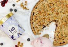 Crème glacée Croustade aux bleuets de halo Top