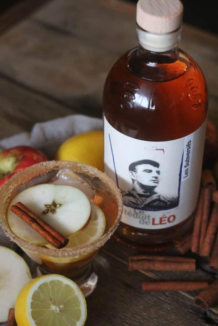 Cocktail tarte aux pommes