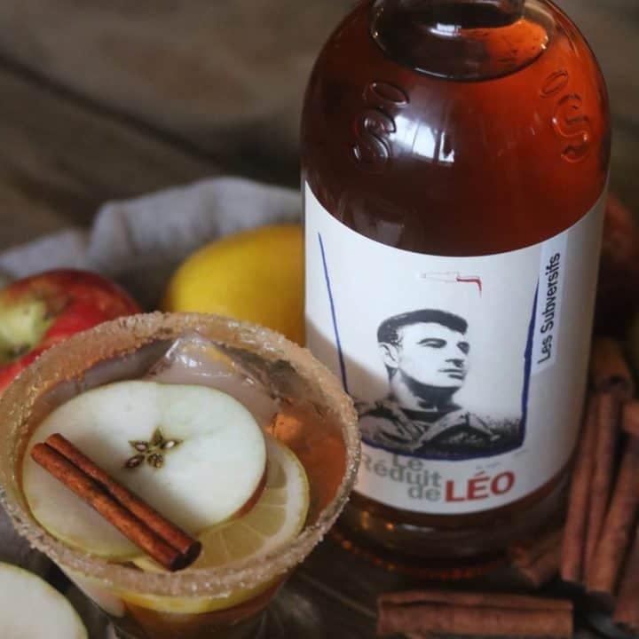 Cocktail chaud à la tarte aux pommes