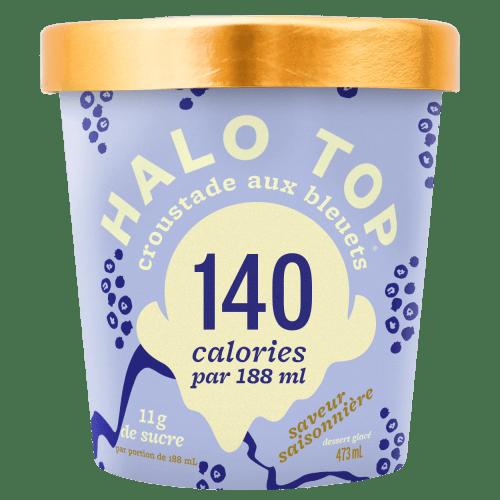 Croustade aux bleuets - Halo Top