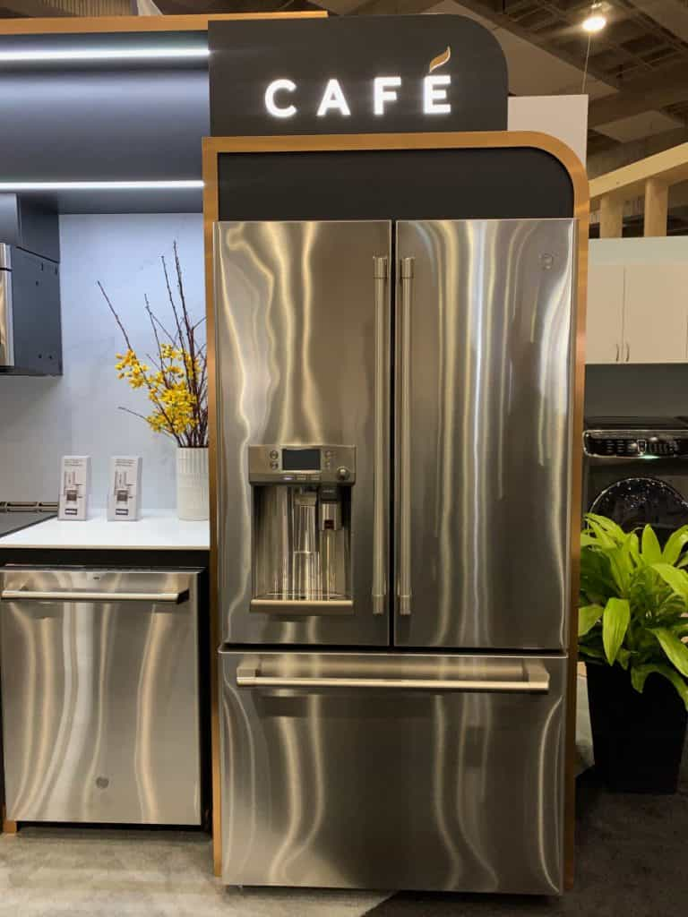 Cafe Appliances de GE au Salon national de l'Habitation
