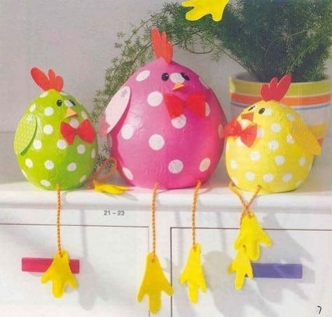 Comment réaliser une jolie décoration pour Pâques