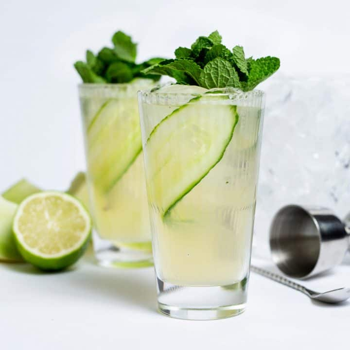 Cocktail Melon Mule