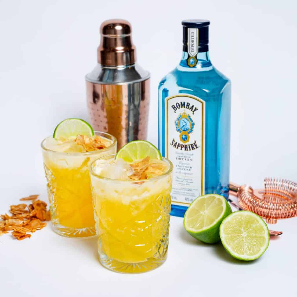 Douceur printanière - Cocktail au gin