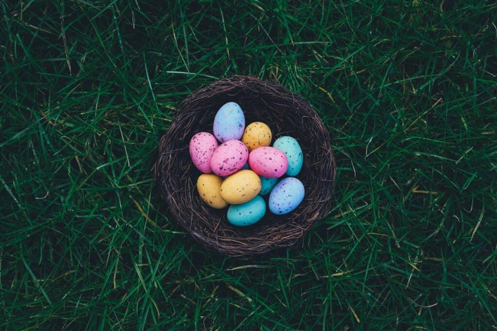 Oeufs pastel de Pâques
