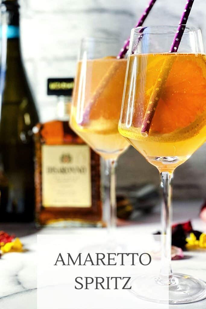 Amaretto spritz