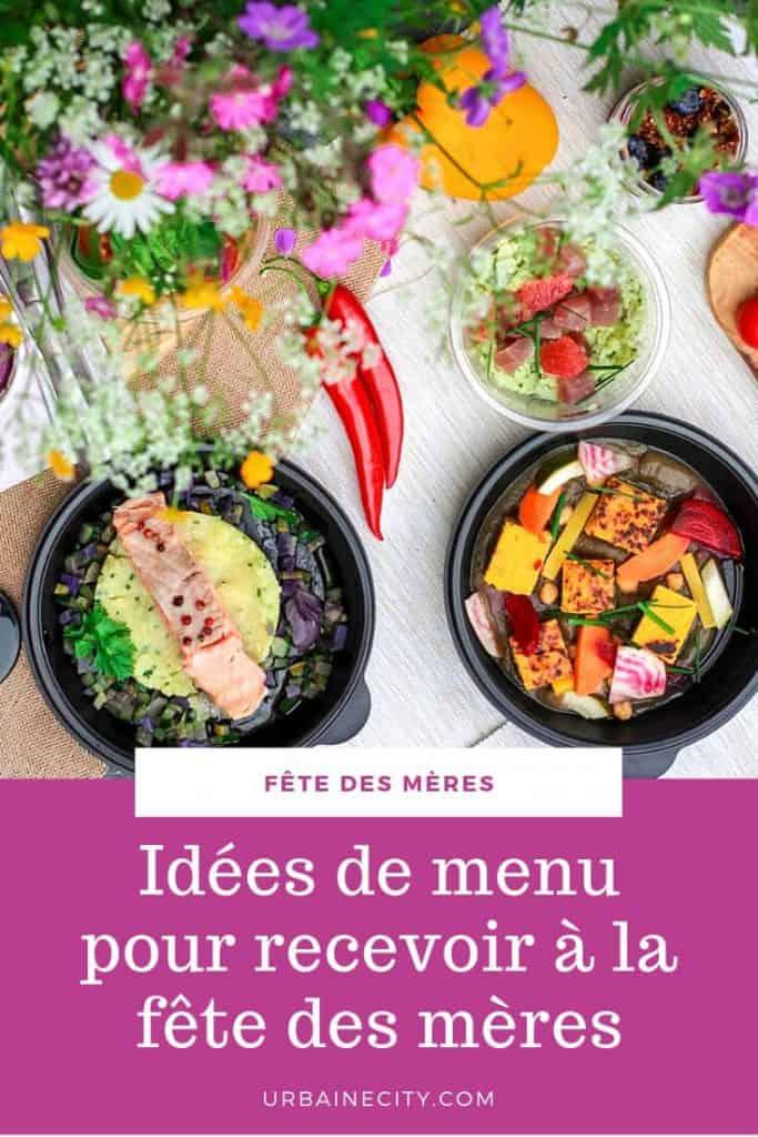 Idées de menu pour recevoir à la fête des mères