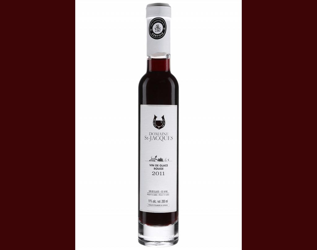 Domaine St-Jacques Vin de Glace Rouge 2011