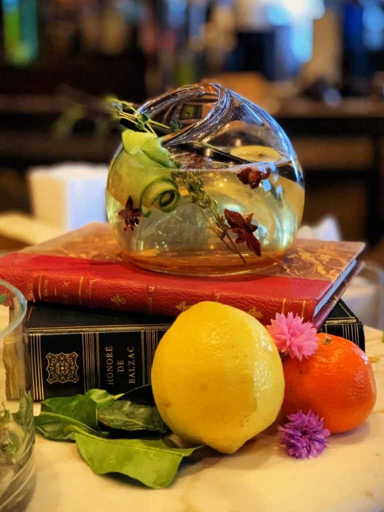 G&T, un gin tonic artisanal au 1608 du Château Frontenac
