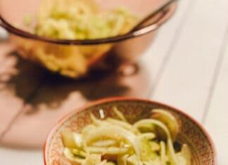 "Salade de fenouil de style ""coleslaw"""