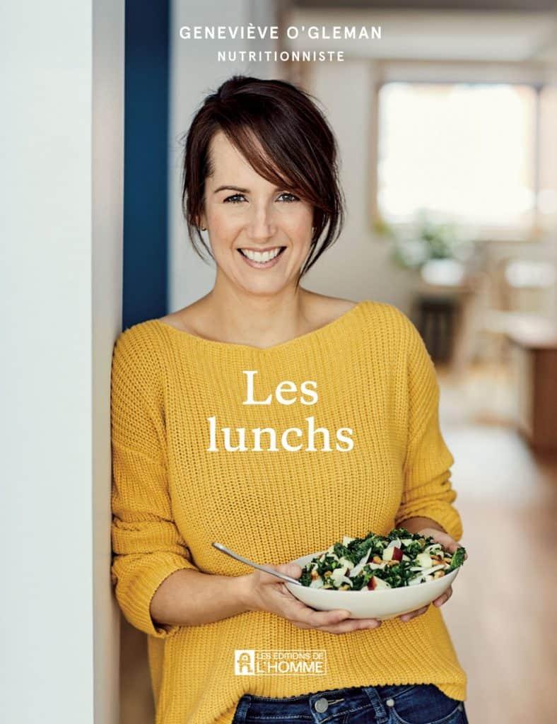 Couverture du livre Les Lunchs de Geneviève O'Gleman