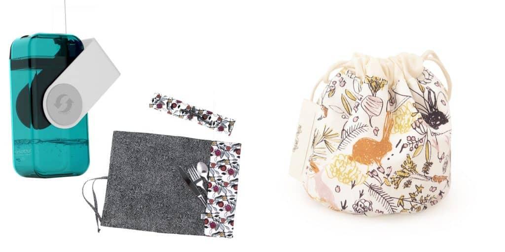 Les accessoires pour lunchs zéro déchet de Carré Zéro Déchet