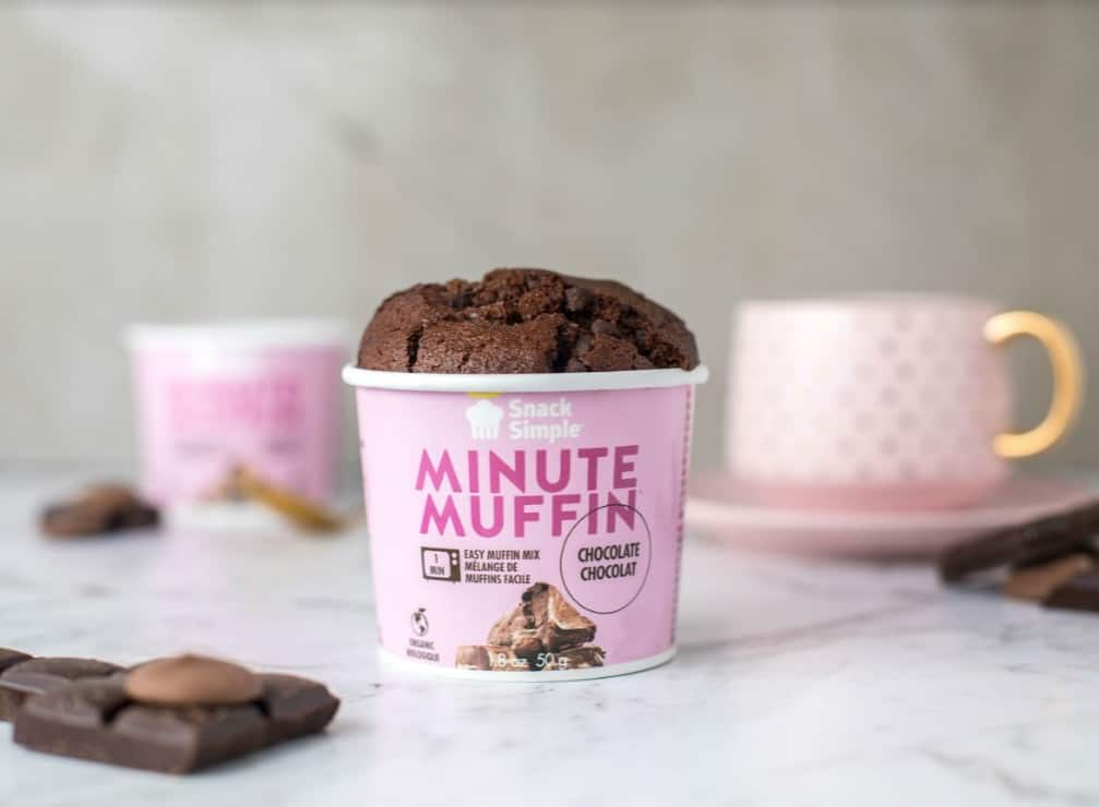 Les Minute Muffin de Snack Simple