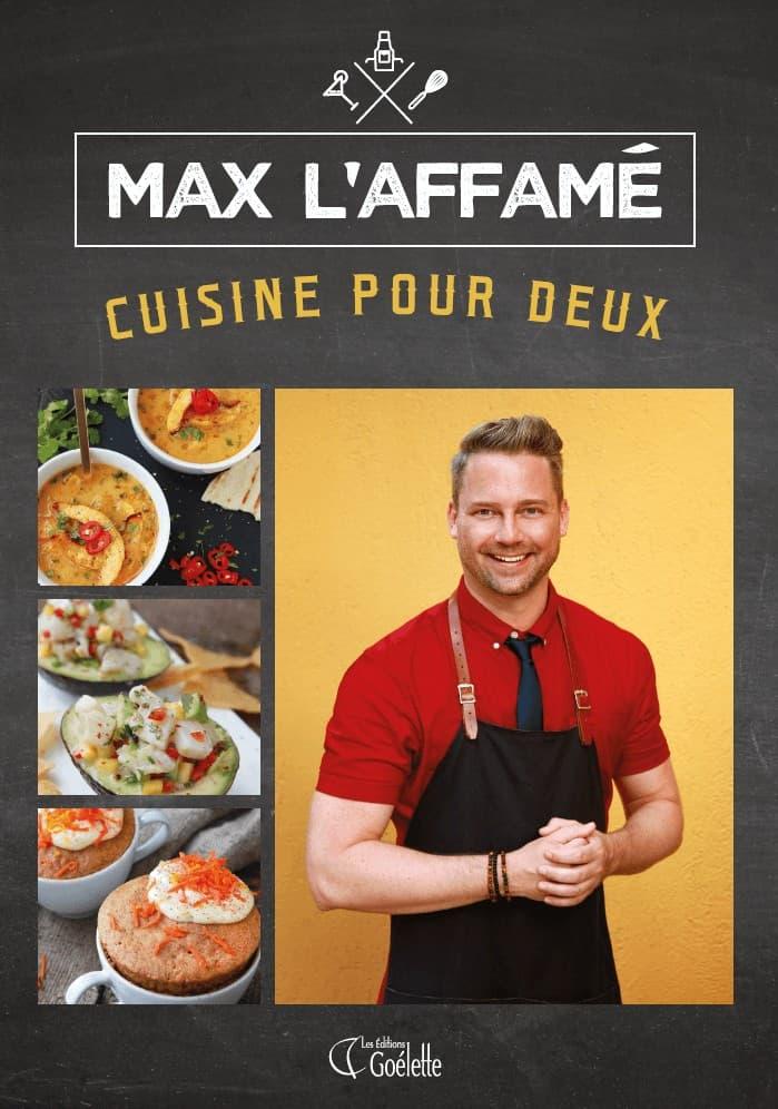 Couverture du livre de Max L'Affamé - Cuisine pour deux