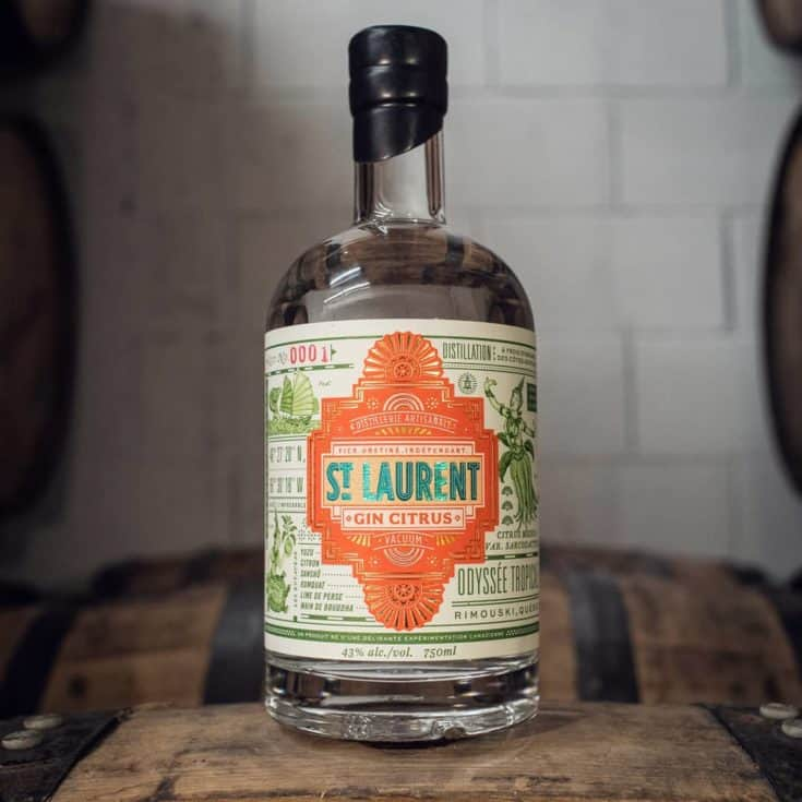 Gin Citrus - Distillerie St-Laurent