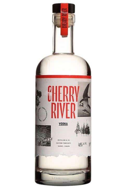 Vodka aux cerises Cherry River