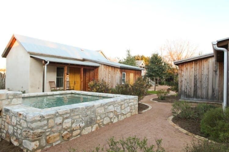 Les charmants cottage du Hoffman Haus à Fredericksburg (Texas)
