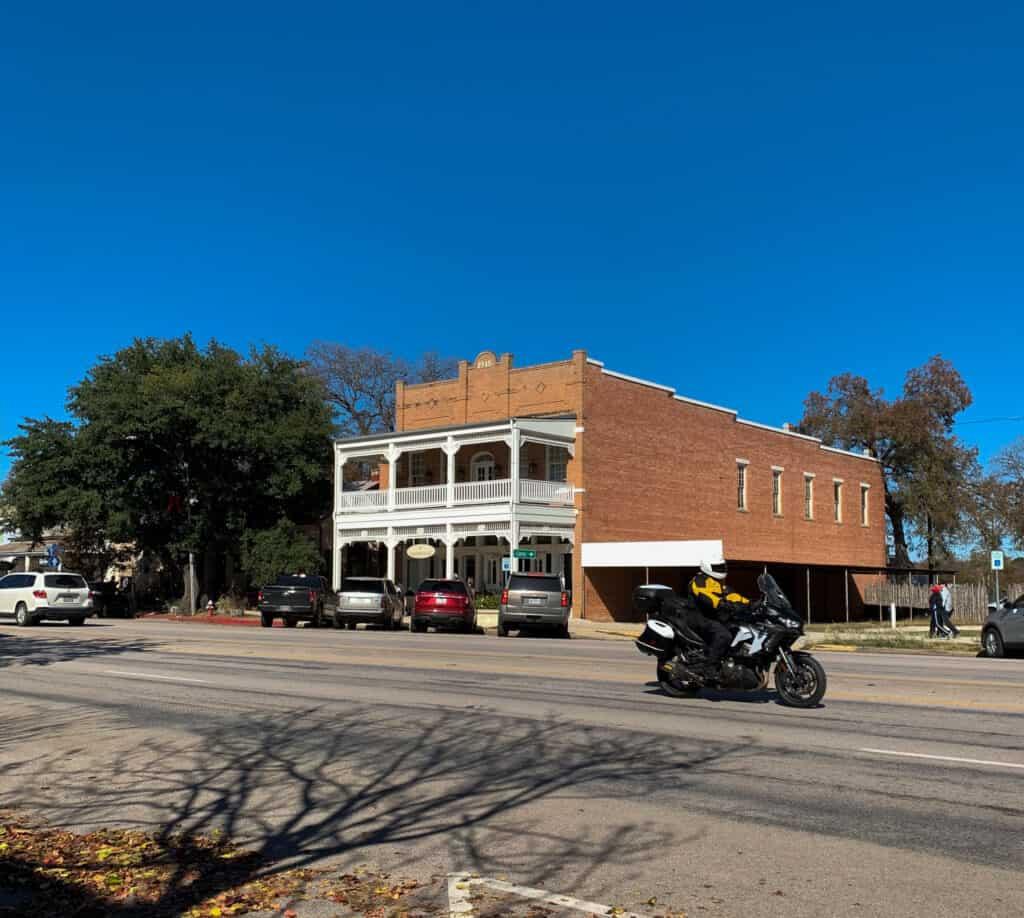Bâtiment historique de Frederickburg Texas